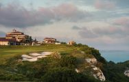 The BlackSeaRama Golf Club's beautiful golf course in striking Black Sea Coast.
