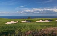 The BlackSeaRama Golf Club's impressive golf course within pleasing Black Sea Coast.