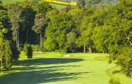The Breadsall Priory Country Club's picturesque golf course situated in impressive Derbyshire.