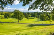 The Breadsall Priory Country Club's beautiful golf course within fantastic Derbyshire.