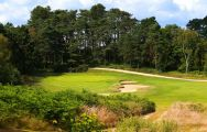 The Broadstone Golf Course's beautiful golf course situated in vibrant Devon.