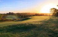 The Broadstone Golf Course's scenic golf course situated in gorgeous Devon.
