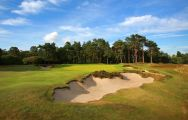 The Broadstone Golf Course's lovely golf course situated in marvelous Devon.