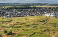 The Carnoustie Golf Links's impressive golf course situated in vibrant Scotland.