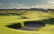 View Carnoustie Golf Links's scenic golf course in sensational Scotland.