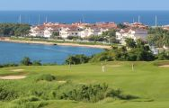 The Casa De Campo Golf - Dye Fore Course's beautiful golf course within fantastic Dominican Republic