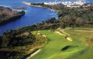 View Casa De Campo Golf - Dye Fore Course's lovely golf course situated in brilliant Dominican Repub