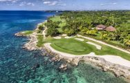 The Casa De Campo Golf - Teeth of the Dog Course's lovely golf course situated in brilliant Dominica