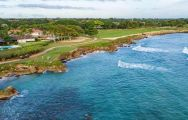 The Casa De Campo Golf - The Links Course's scenic golf course in vibrant Dominican Republic.