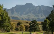 The Champagne Sports Golf Club's scenic golf course in sensational South Africa.
