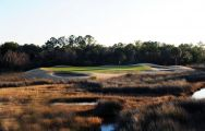 The Charleston National Golf Club's impressive golf course in astounding South Carolina.