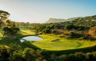 The Clovelly Country Club's beautiful golf course within amazing South Africa.