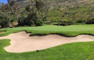 The Clovelly Country Club's scenic golf course in gorgeous South Africa.