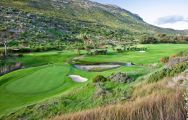 View Clovelly Country Club's impressive golf course situated in brilliant South Africa.