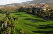 The Costa Adeje Golf Course's picturesque golf course in pleasing Tenerife.