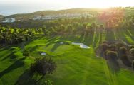 The Costa Adeje Golf Course's lovely golf course within brilliant Tenerife.