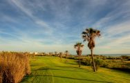 The Costa Ballena Ocean Golf Club's lovely golf course situated in marvelous Costa de la Luz.