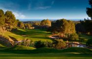 The Costa Dorada Golf Club's impressive golf course in incredible Costa Dorada.