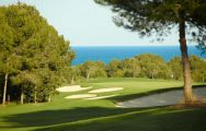 The Costa Dorada Golf Club's beautiful golf course in brilliant Costa Dorada.