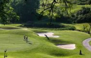 The Dartmouth Golf  Country Club's scenic golf course situated in marvelous Devon.