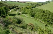 View Dartmouth Golf  Country Club's lovely golf course within impressive Devon.