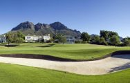 The Erinvale Golf Club's lovely golf course in staggering South Africa.