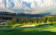 The Erinvale Golf Club's picturesque golf course in spectacular South Africa.