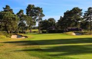 View Ferndown Golf Club's lovely golf course within spectacular Devon.