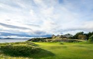 The Fortrose  Rosemarkie Golf Club's impressive golf course within brilliant Scotland.