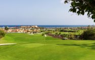 The Fuerteventura Golf Club's picturesque golf course situated in stunning Fuerteventura.