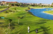 View Fuerteventura Golf Club's picturesque golf course in dramatic Fuerteventura.