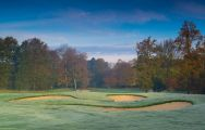 View Galgorm Castle Golf Club's lovely golf course in vibrant Northern Ireland.