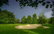 Galgorm Castle Golf Club's lovely golf course in striking Northern Ireland.