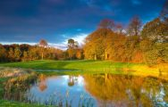 The Galgorm Castle Golf Club's impressive golf course within brilliant Northern Ireland.