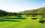 The Gary Player Country Club's beautiful golf course in magnificent South Africa.