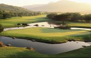 View Gary Player Country Club's impressive golf course in dazzling South Africa.