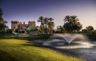 The Golf Amelkis's impressive golf course situated in pleasing Morocco.
