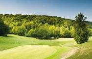 The Golf Barriere de Deauville's lovely golf course in sensational Normandy.