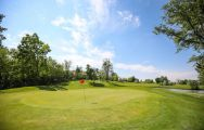 The Golf Club CastellArquato's scenic golf course within dazzling Northern Italy.