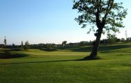 The Golf Club Le Fonti's lovely golf course situated in vibrant Northern Italy.