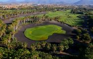 Golf del Sur's lovely golf course in pleasing Tenerife.