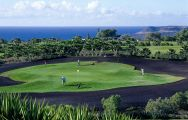 The Golf del Sur's lovely golf course situated in vibrant Tenerife.