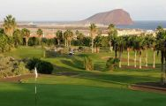 View Golf del Sur's picturesque golf course within magnificent Tenerife.