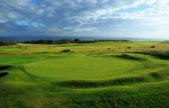 The Gullane Golf Club's beautiful golf course in magnificent Scotland.
