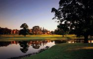 Hanbury Manor Country Club's impressive golf course within sensational Hertfordshire.