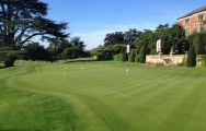 The Hanbury Manor Country Club's impressive golf course in astounding Hertfordshire.
