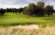 The Hanbury Manor Country Club's beautiful golf course within dazzling Hertfordshire.
