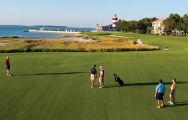 The Harbour Town Golf Links's impressive golf course in faultless South Carolina.