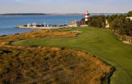 The Harbour Town Golf Links's scenic golf course situated in gorgeous South Carolina.