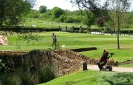 The Horsley Lodge Golf Club's scenic golf course in gorgeous Derbyshire.